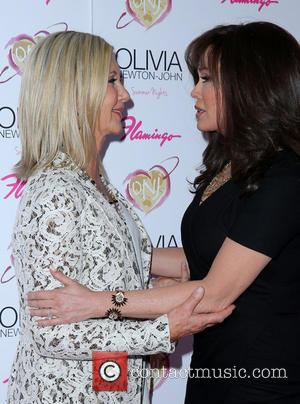 Olivia Newton John and Marie Osmond