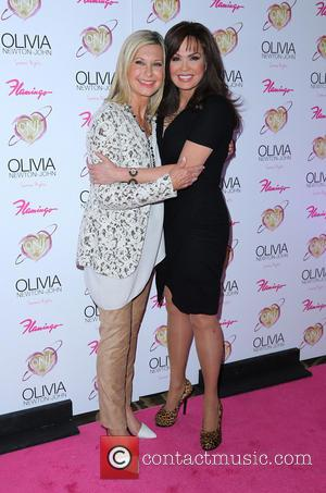 Olivia Newton John and Marie Osmond -