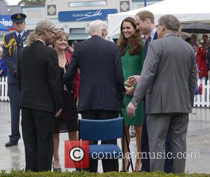 Prince William, Catherine Duchess Of Cambridge and Jim Mylchreest