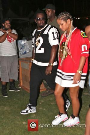 P Diddy - P Diddy enjoys Coachella with friends - Los Angeles, California, United States - Saturday 12th April 2014