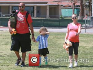 Hank Baskett, Hank Basket Iv and Kendra Wilkinson