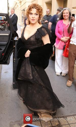 Bernadette Peters - Laurence Olivier Awards 2014 at the Royal Opera House - Outside Arrivals - London, United Kingdom -...