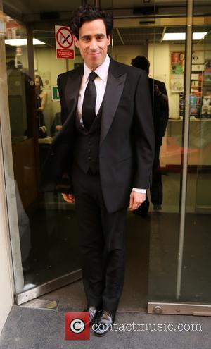 Stephen Mangan - Laurence Olivier Awards 2014 at the Royal Opera House - Outside Arrivals - London, United Kingdom -...