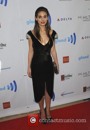 Caitlin Stasey - The 25th Annual GLAAD Media Awards - Los Angeles, California, United States - Sunday 13th April 2014