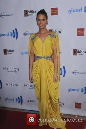 Carmen Carrera - The 25th Annual GLAAD Media Awards - Los Angeles, California, United States - Sunday 13th April 2014