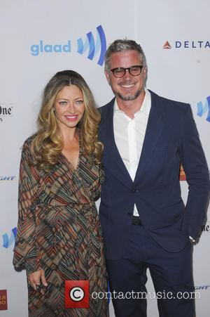 Eric Dane and Rebecca Gayheart - The 25th Annual GLAAD Media Awards - Los Angeles, California, United States - Sunday...