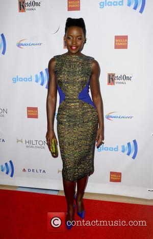 Lupita Nyong'o - The 25th Annual GLAAD Media Awards - Los Angeles, California, United States - Sunday 13th April 2014