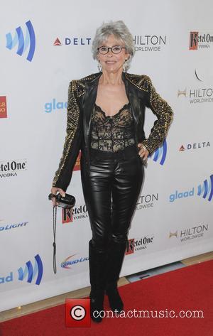 Rita Moreno - The 25th Annual GLAAD Media Awards - Los Angeles, California, United States - Sunday 13th April 2014