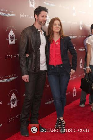 Darren Le Gallo and Amy Adams - John Varvatos Stuart House Benefit 2014 - West Hollywood, California, United States -...