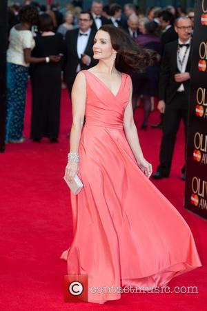 Kristin Davis - Laurence Olivier Awards held at the Royal Opera House - Arrivals - London, United Kingdom - Sunday...