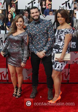 Camila Nakagawa, Aneesa Ferreira and Frank Sweeney - 23rd Annual MTV Movie Awards at the Nokia Theatre - Arrivals -...