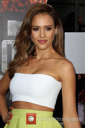 Jessica Alba - 23rd Annual MTV Movie Awards at the Nokia Theatre - Arrivals - Los Angeles, California, United States...