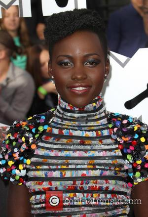 Lupita Nyong'o - 23rd Annual MTV Movie Awards at the Nokia Theatre - Arrivals - Los Angeles, California, United States...