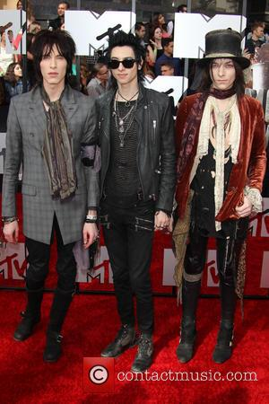 Palaye Royale - 23rd Annual MTV Movie Awards at the Nokia Theatre - Arrivals - Los Angeles, California, United States...