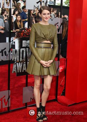 Shailene Woodley - 23rd Annual MTV Movie Awards at the Nokia Theatre - Arrivals - Los Angeles, California, United States...