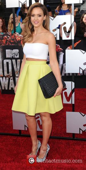 Jessica Alba - 23rd Annual MTV Movie Awards - Arrivals - Los Angeles, California, United States - Sunday 13th April...