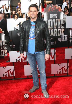 Jonathan Bennett - MTV Movie Awards 2014 Arrivals held at Nokia Theatre L.A. Live! - Los Angeles, California, United States...