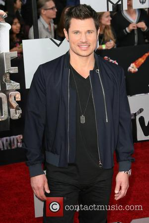 Nick Lachey - MTV Movie Awards 2014 Arrivals held at Nokia Theatre L.A. Live! - Los Angeles, California, United States...