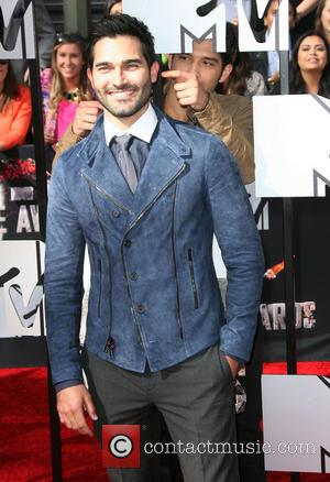 Tyler Hoechlin - MTV Movie Awards 2014 Arrivals held at Nokia Theatre L.A. Live! - Los Angeles, California, United States...