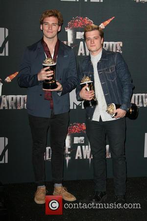 Sam Claflin and Josh Hutcherson