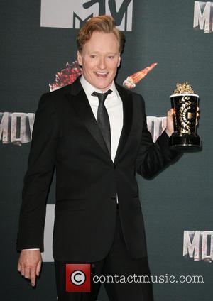 Conan O'Brien - MTV Movie Awards 2014 Press Room held at the Nokia Theatre L.A. Live! - Los Angeles, California,...