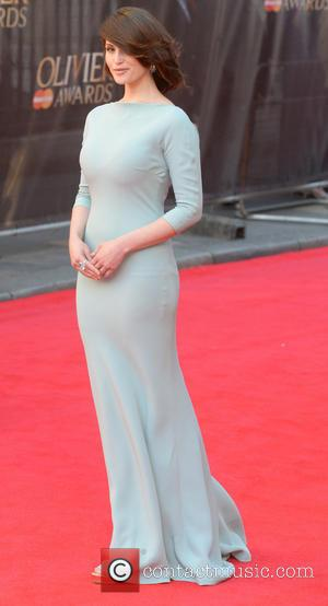 Gemma Arterton - Olivier Awards 2014 held at the Royal Opera House - Arrivals - London, United Kingdom - Sunday...