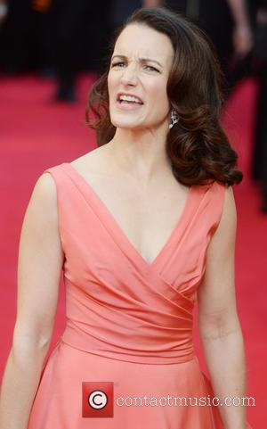Kristen Davis - Olivier Awards 2014 held at the Royal Opera House - Arrivals - London, United Kingdom - Sunday...