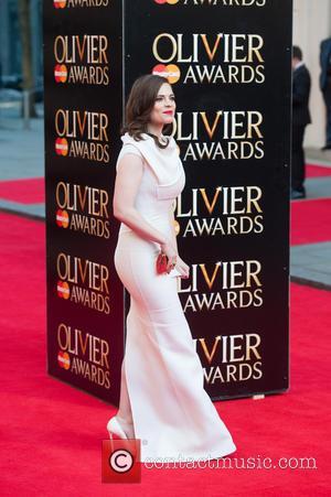 Hayley Atwell - Olivier Awards 2014 held at the Royal Opera House - Arrivals - London, United Kingdom - Sunday...