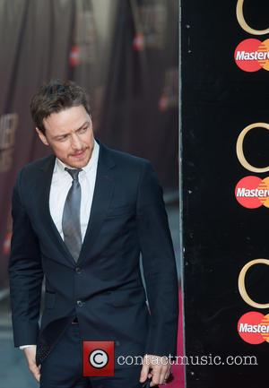 James McAvoy - Olivier Awards 2014 held at the Royal Opera House - Arrivals - London, United Kingdom - Sunday...