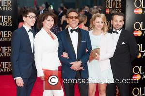 Robert Lindsay and Guests - Olivier Awards 2014 held at the Royal Opera House - Arrivals - London, United Kingdom...