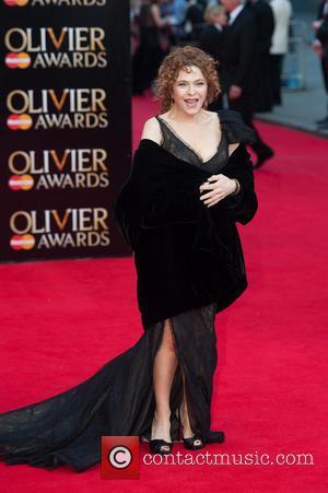 Bernadette Peters - Olivier Awards 2014 held at the Royal Opera House - Arrivals - London, United Kingdom - Sunday...