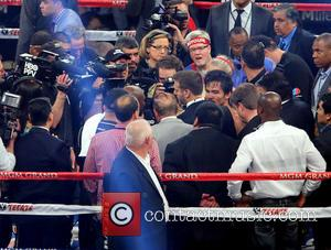 Manny Pacquiao - World Welterweight Championship Pacquiao Bradley 2 at MGM Grand Hotel and Casino Las Vegas - Las Vegas,...