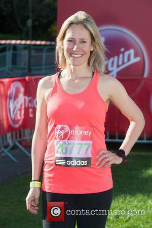 Sophie Raworth - Virgin London Marathon: Celebrities Start at Greenwich. - London, United Kingdom - Sunday 13th April 2014