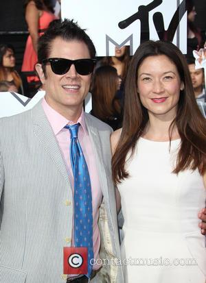 Johnny Knoxville and Naomi Nelson - The 23rd Annual MTV Movie Awards at Nokia Theatre on April 13, 2014 in...