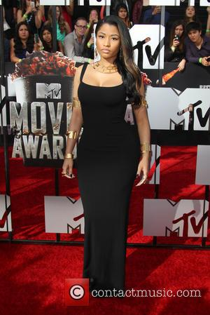 Nicki Minaj - The 23rd Annual MTV Movie Awards at Nokia Theatre on April 13, 2014 in Los Angeles, California....