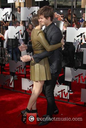 Shailene Woodley and Ansel Elgort - The 23rd Annual MTV Movie Awards at Nokia Theatre on April 13, 2014 in...