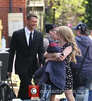 John Partridge and Rita Simons