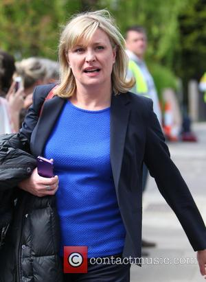 Laurie Brett - The cast of Eastenders attend the funeral of Lucy Beale - London, United Kingdom - Monday 14th...