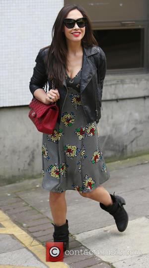 Myleene Klass - Myleene Klass outside ITV Studios - London, United Kingdom - Monday 14th April 2014