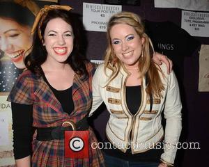 Rebecca Ferguson, Fern Davis and Adrienne Davis (daughters Of Davis)