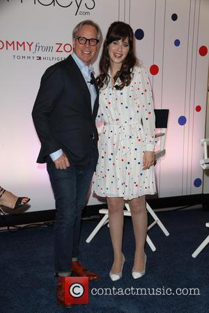 Tommy Hilfiger and Zooey Deschanel - 'To Tommy, From Zooey' collection launch at Macy's Herald Square - New York City,...