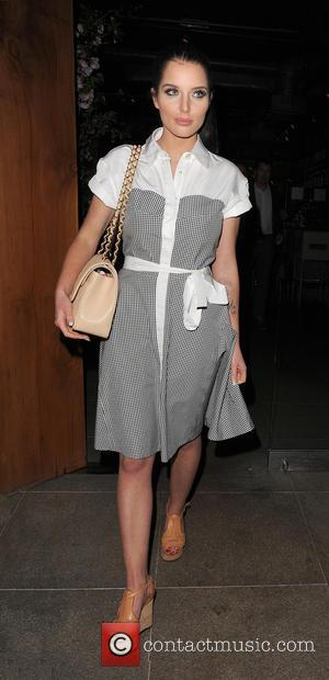 Helen Flanagan - Helen Flanagan enjoys a night out at Zuma restaurant in Knightsbridge - London, United Kingdom - Tuesday...