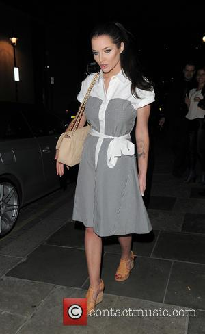 Helen Flanagan - Helen Flanagan enjoys a night out at Zuma restaurant - London, United Kingdom - Tuesday 15th April...
