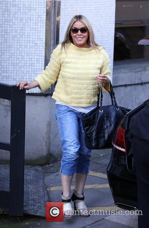 Patsy Kensit - Patsy Kensit outside ITV Studios - London, United Kingdom - Tuesday 15th April 2014