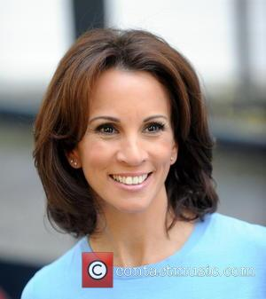 Andrea McLean - Andrea McLean Leaving ITV Studios London after filming Loose Women - London, United Kingdom - Tuesday 15th...