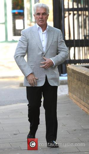 Max Clifford - Max Clifford arrives at Southwark Crown Court - London, United Kingdom - Tuesday 15th April 2014