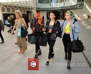 Neon Jungle - Neon Jungle at the BBC Jess Plummer Amira McCarthy Shereen Cutkelvin and Asami Zdrenka - London, United...