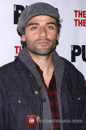 Oscar Isaac - Opening night of The Library at the Public Theater - Arrivals. - New York, New York, United...