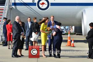 Catherine, Duchess of Cambridge, Prince William, Duke of Cambridge and Prince George of Cambridge