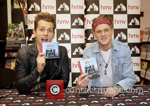 James Mcvey, Tristan Evans and The Vamps